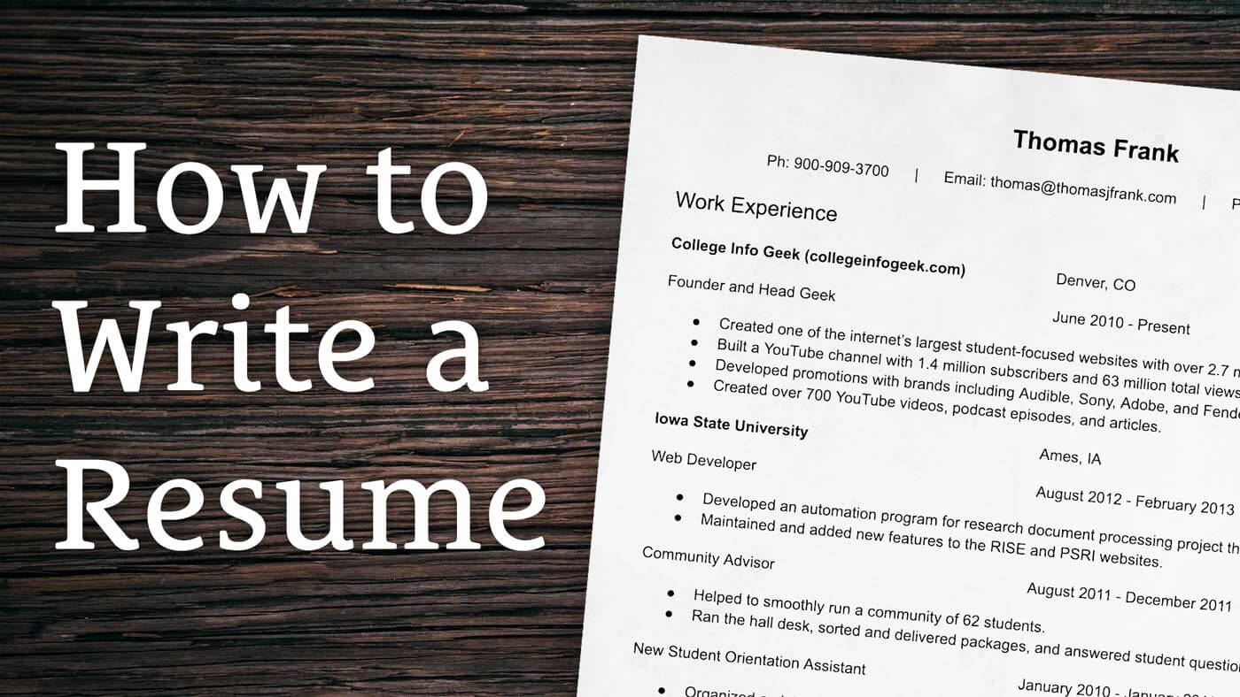 How to writing a resume how to write an informed opinion paper